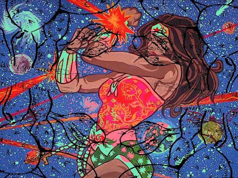 Chicana Wonder Woman